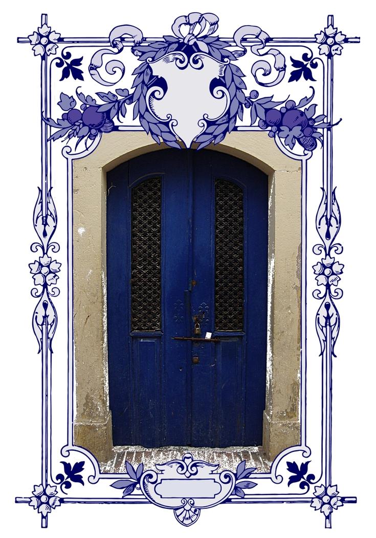 blue door one