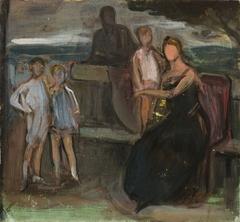 Boceto para Retrato de la familia Basabé