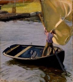 Boy and Sail