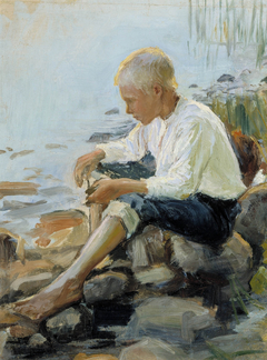 Boy on the Shore