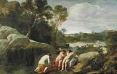Cecrop's Daughters Discovering Erichtonius