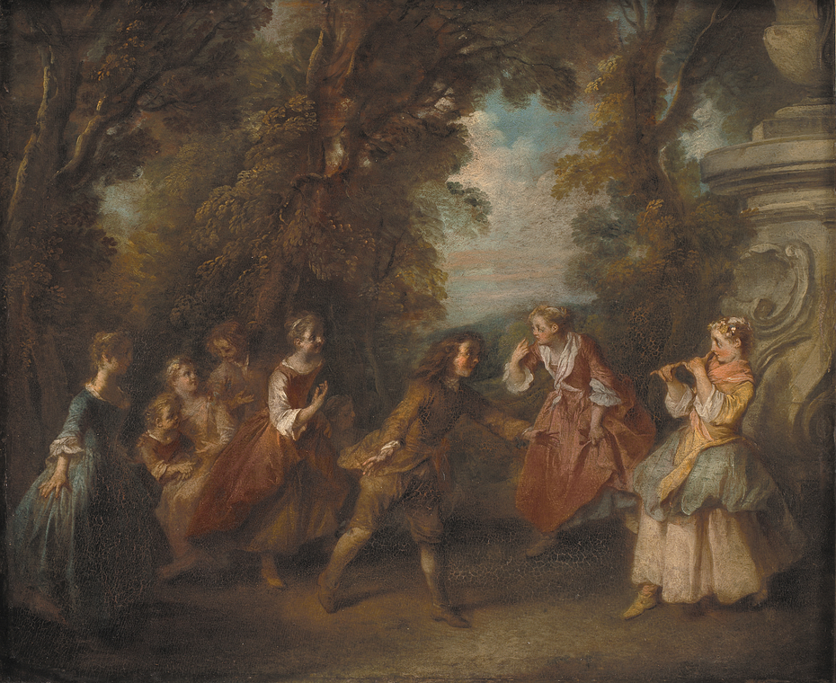 Children Playing in the Open