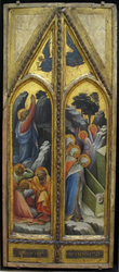 Christ in the Garden of Gethsemane; The Three Marys at the Tomb