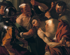 Christ with the crown of thorns