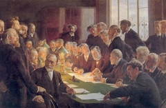 Committee for the French Art Exhibition in Copenhagen 1888