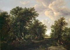 Copy of Landscape by M. Hobbema (Nasjonalmuseet, NG.M.00708)