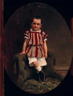 Cornelis Arnold Joseph Carel Spillenaar (1863-1869) op zevenjarige leeftijd