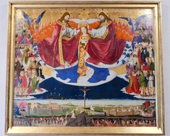 Coronation of the Virgin, altar of the Charterhouse of Villeneuve-lès-Avignon.