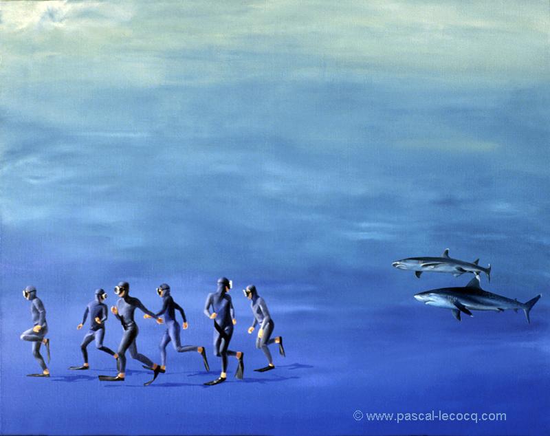 COUREURS DE FOND - Deep runners - by Pascal