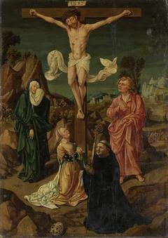 Crucifixion with the Virgin, Saint John, Mary Magdalene, a Donor