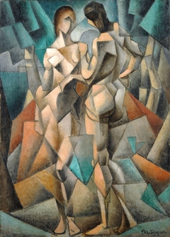 Deux Nus (Two Nudes, Two Women)
