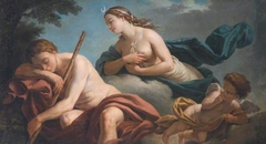 Diana and Endymion, Allegory of Fidelity