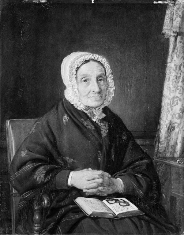 Ellen Roed, f. Jensen, kunstnerens moder