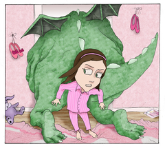 Ellie and her monster -8