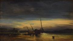 Evening on the French Coast near Dieppe