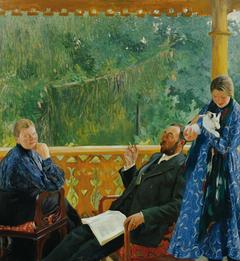 Familienbild (Porträt der Familie Polenow)