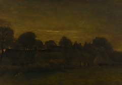Farming Village at Twilight