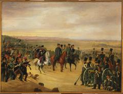 General Józef Chłopicki and Skrzynecki among soldiers