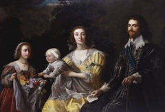 George Villiers, 1st Duke of Buckingham (1592-1628) with his Family