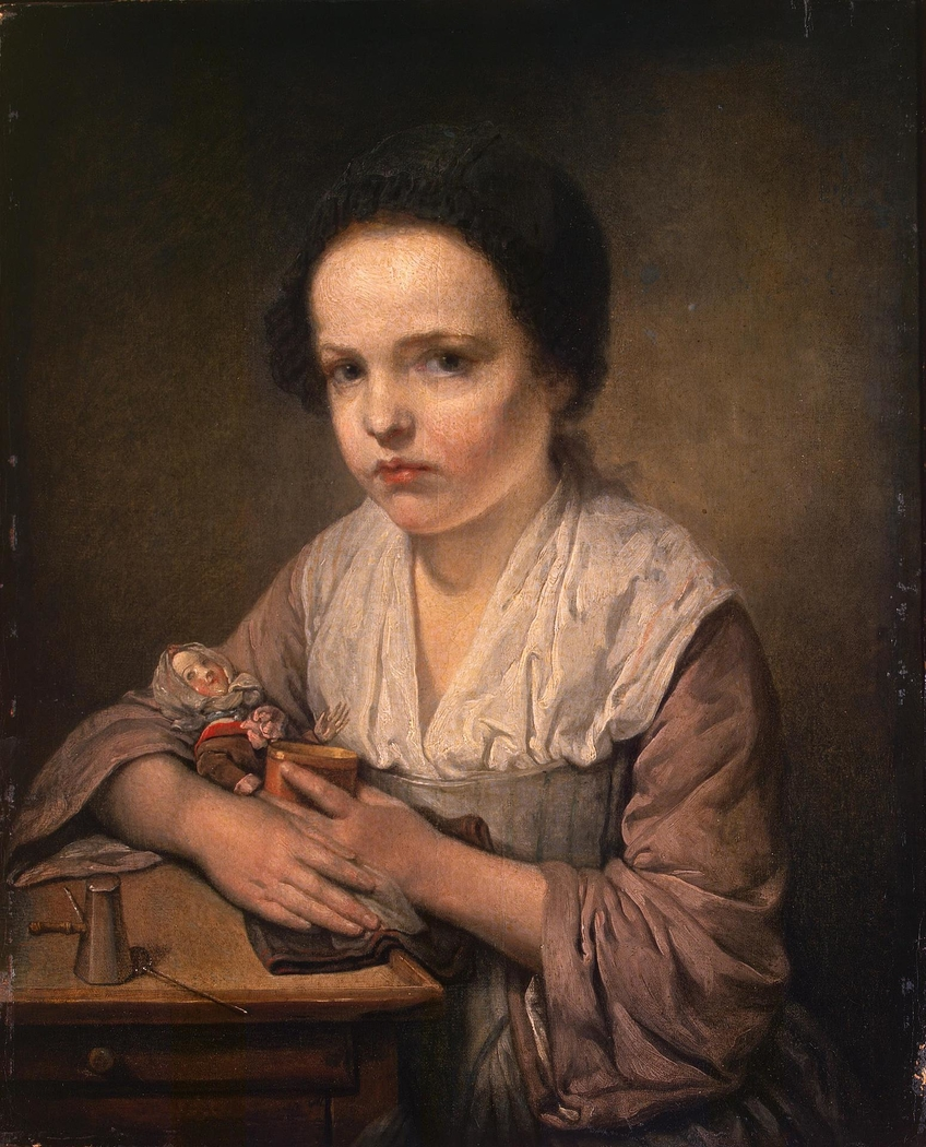 Girl with a Doll