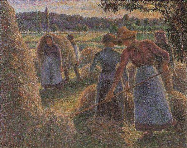Haymakers, Evening, Eragny