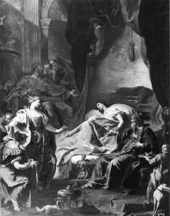 Healing of Saint Antiochus (Pittoni)
