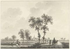 Het dorp Spijk in Gelderland