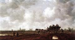 Horse Cart on a Bridge