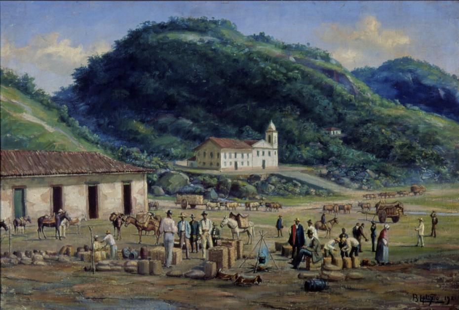 Hospital e Igreja da Misericórdia de Santos