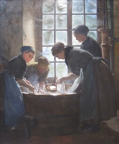 In the Wash-House