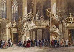 Interior of St. Etienne du Mont