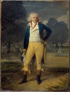 L'Abbé de Saint-Farre, fils naturel du Duc d'Orléans et de Mlle Lemarquis, danseuse à l'Opéra