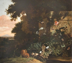 Landscape with Plants, Insects and a Squirrel