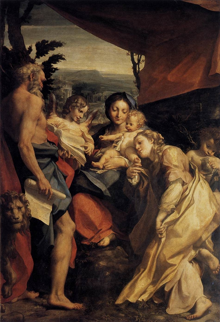 Madonna of St. Jerome