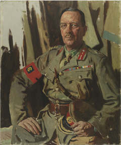 MAJOR GENERAL SIR HENRY BURSTALL, KCB, COMMANDER OF THE MOST DISTINGUISHED ORDER OF ST MICHEAL AND ST GEORGE