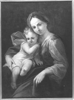 Maria mit Kind (?)