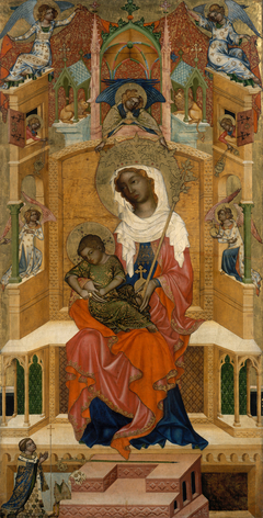 Mary Enthroned with the Child