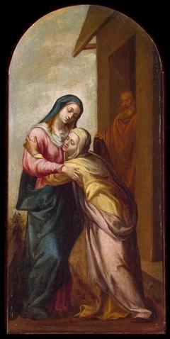 Mary Meeting Elizabeth
