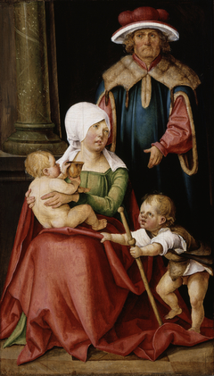 Mary Salome and Zebedee with their Sons James...