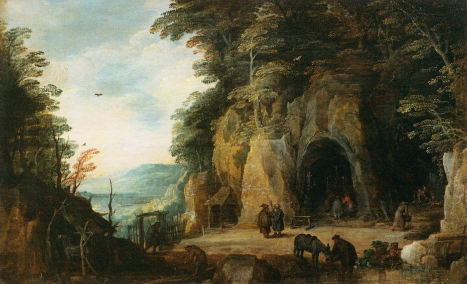 Monk's Hermitage in a Cave