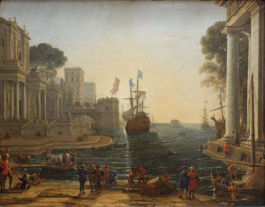 Odysseus returns Chryseis to Her Father