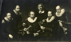 Officers of the Amsterdam guild of gold- and silversmiths in 1627