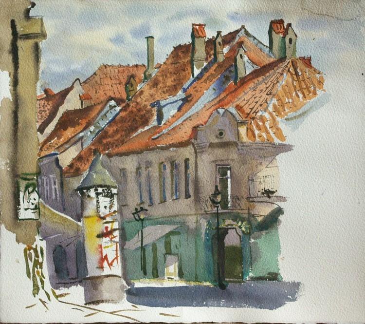 Old Kaunas.