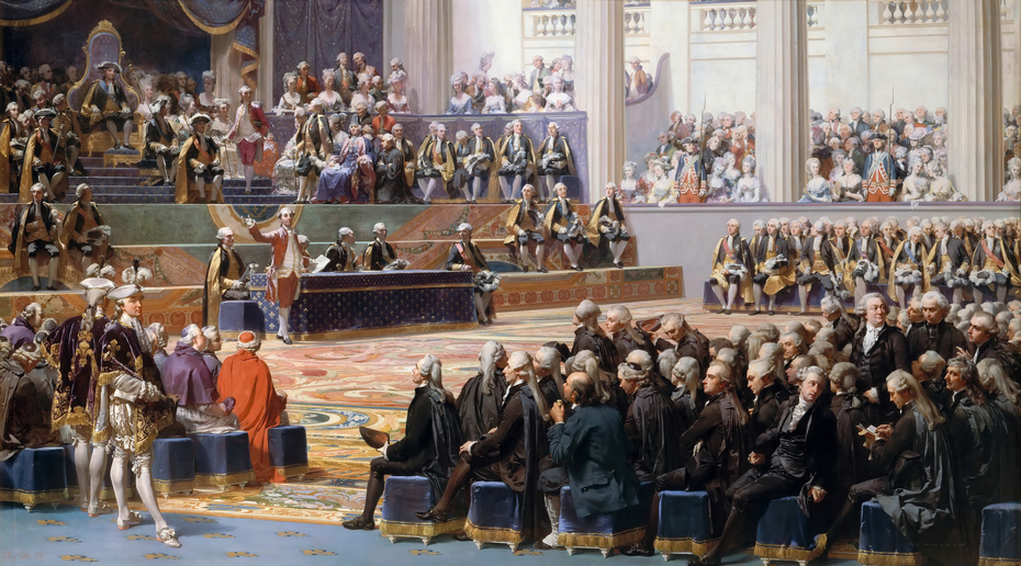 Opening session of the General Assembly, 5 May 1789
