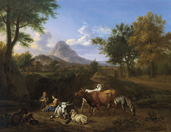 Pastoral Scene
