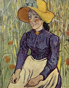 Portrait of Young Peasant Woman