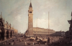 Piazza San Marco: Looking South-West