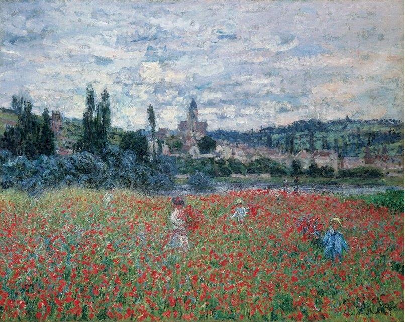 Poppy Field near Vétheuil