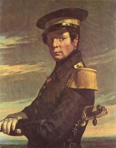 Portrait d'un officier de marine