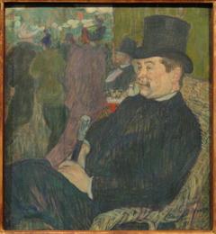 Portrait de Monsieur Delaporte au Jardin de Paris